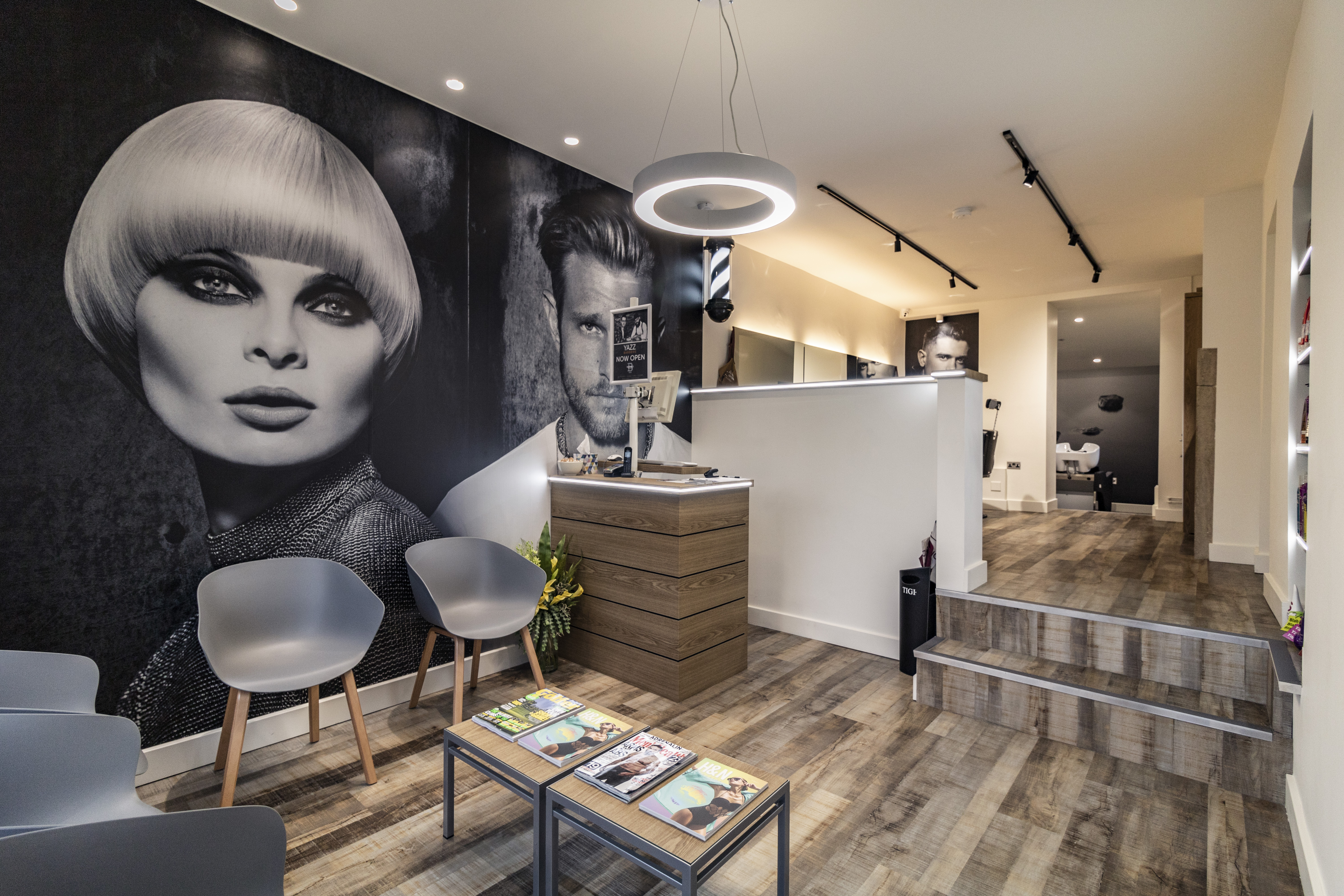 Completed Project – Yazz Hair Salon